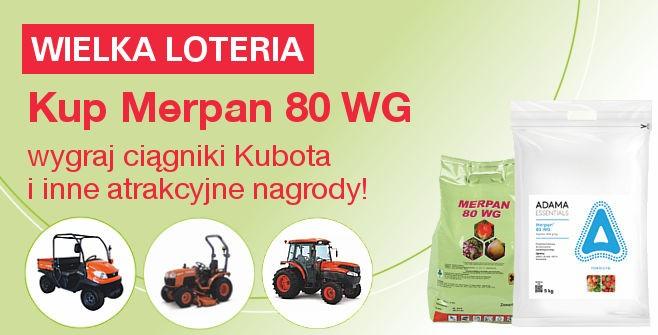 Loteria Jubileuszowa Merpan - Wygraj ciągnik Kubota oraz inne atrakcyjne nagrody