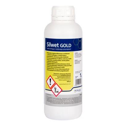 Silwet Gold to adiuwant o działaniu zwilżającym i zwiększającym przyczepność cieczy roboczej. SILWET GOLD, agrosimex, adiuwant