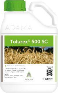 Tolurex, środek chwastobójczy, herbicyd, zwalcza chwasty w uprawach pszenica, jęczmień, żyto, pszenżyto ozime. AGROSIMEX