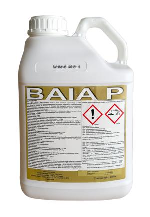 Regulator wzrostu, który powoduje skrócenie i usztywnienie źdźbeł zbóż Baia P, agrosimex