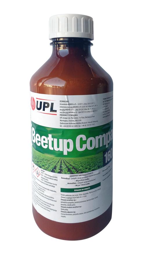 beetup compact agrosimex herbicyd zwalczający chwasty w uprawach buraka
