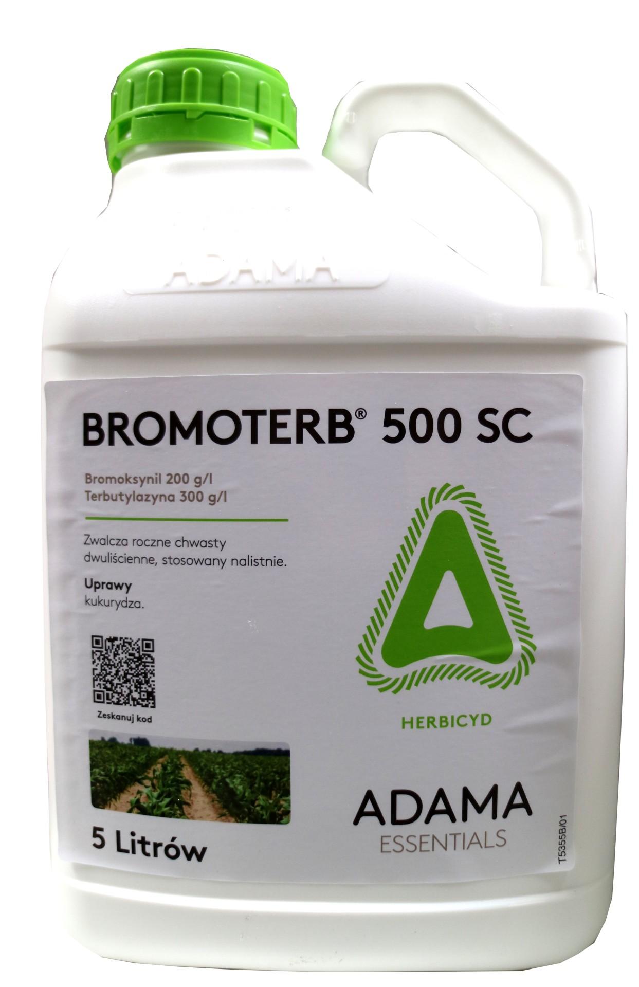 bromoterb, środek chwastobójczy, herbicyd, agrosimex, do upraw kukurydzy. skuteczne zwalczanie chwastów dwuliściennych.