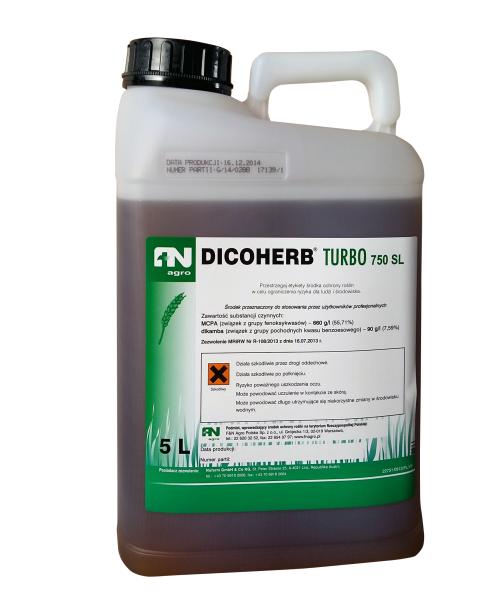 dicoherb turbo, środek chwastobójczy, herbicyd, zboża jare i ozime. Agrosimex.