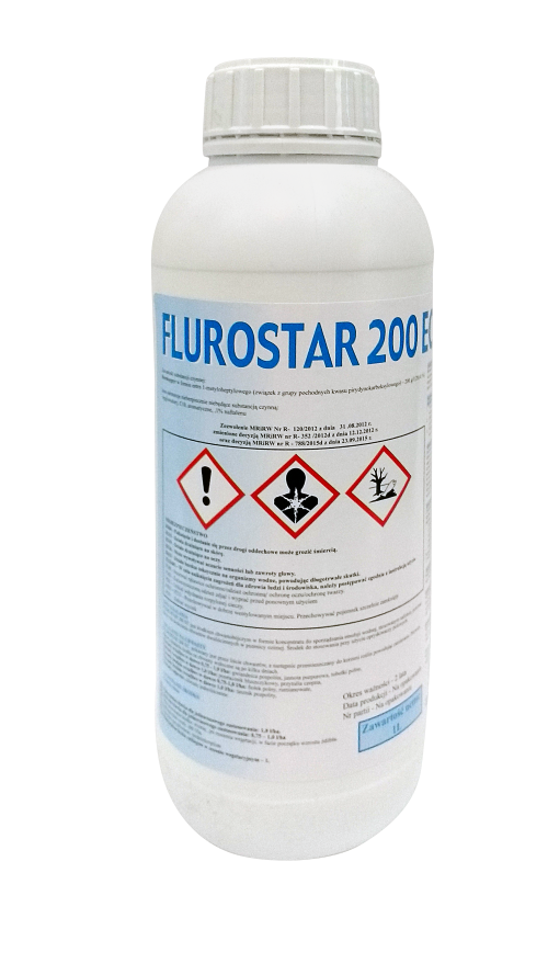 flurostar 200 EC, środek chwastobójczy, herbicyd, do stosowania w uprawach pszenicy ozimej. Agrosimex.
