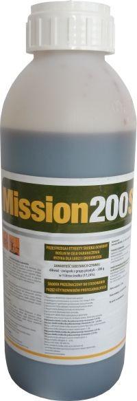 Mission 200 SL środek chwastobójczy, herbicyd, do zwalczania chwastów w uprawach: ziemniak, rzepak ozimy, rzepak jary. Agrosimex