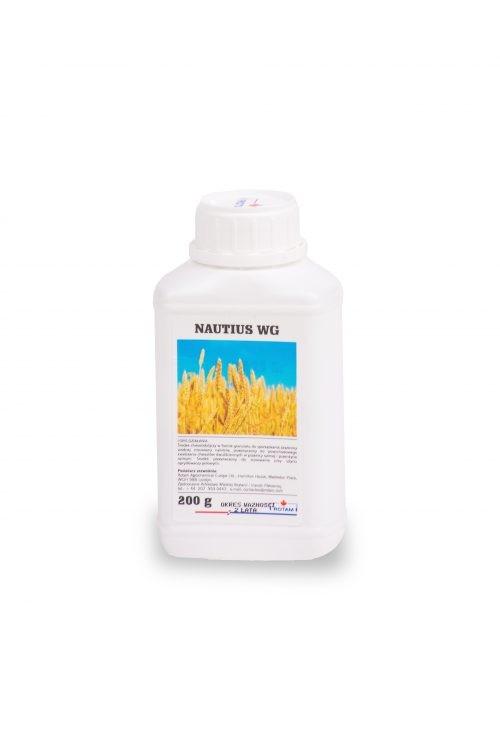 Nautius WG to środek chwastobójczy, herbicyd, do stosowania w uprawach pszenicy ozimej i pszenżyta ozimego. Agrosimex
