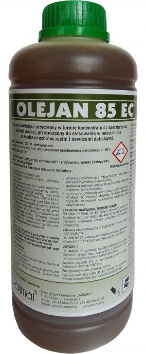 Olejan, adiuwant, zwilża i zwiększa przyczepność. agrosimex