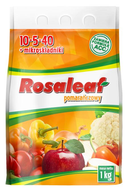 Rosaleaf pomarańczowy opakowanie