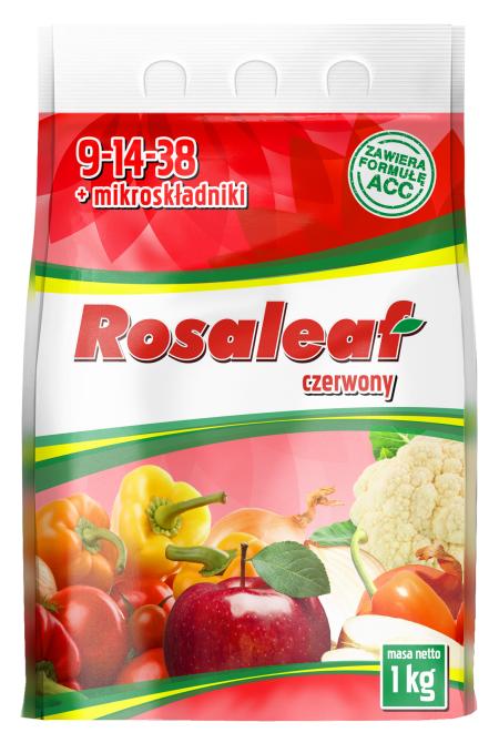 Rosaleaf czerwony opakowanie