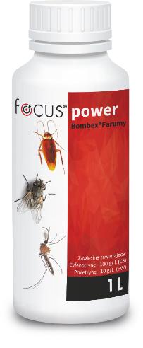 bombex farumy focus power środek owadobójczy DDD dezynsekcja